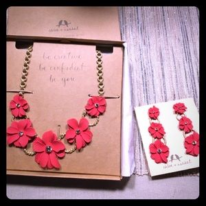 Gorgeous New Necklace and Earring Set